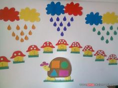 Math Classroom Decorations, Preschool Decor, Preschool Colors, School Decorations, Camping Crafts For Kids, Creative Activities For Kids, School Board Decoration, Class Decoration, Preschool Workbooks