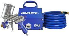 Amazon.com: Fuji 2803-GXPC Mini-Mite 3 HVLP Spray System with Gravity Gun: Home Improvement