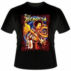 "Black T-Shirt  ""Jimi Hendrix""     €14.90  http://www.12print.it/artshop/jimi-hendrix/tshirt-nera-jh-colorful-411.htm"