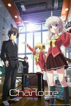Charlotte Anime, Manga Anime, Animes To Watch, Anime Reccomendations, Japon Illustration, Angel Beats, Manga Covers, Cute Anime Character, Yuu