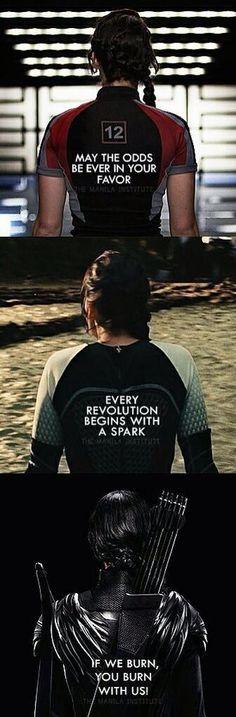 Katniss Everdeen, the Mockingjay, is a hero and role model from the beginning to the end of The Hunger Games series.burn Capitol feel pain pain that most don't survive but the most kind hearted do. Like Prim Rue Katniss. Hunger Games Memes, Hunger Games Fandom, Hunger Games Catching Fire, Hunger Games Trilogy, Hunger Game Quotes, Hunger Games Song, The Hunger Games 1, Catching Fire Quotes, Hunger Games Outfits