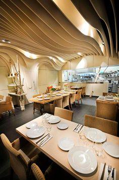Restaurant Imouto - Nouvel établissement à Lyon par Alexis Vigne / Architecture d'intérieur / Yookô