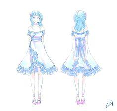 UBF: Pari's prom dress by NuX.deviantart.com on @deviantART