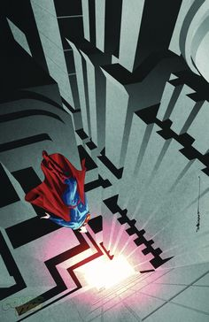 Superman Unchained #8 variant edition by Dustin Nguyen