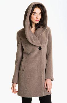 Elie Tahari Shawl Collar Wrap Coat | Nordstrom
