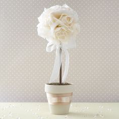 Very cute. Great idea for bridal shower small centerpiece or deco.