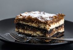 Muravidéki gibanica My Recipes, Dessert Recipes, Favorite Recipes, Poppy Cake, Lava Cakes, Top 5, Sweet Cakes, Diy Food, Farmers Market