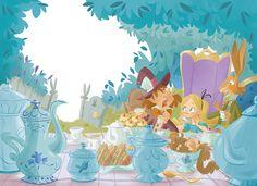 Letizia Rizzo Lecce, Italy Alice in Wonderland. on Behance