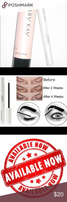New! Never used! MK Lash & Brow Serum Improves overall appearance of lashes, leaves brows looking healthier! Mary Kay Makeup