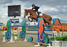 Ashlee Bond perfecta en el $100,00 Longines FEI World Cup de California.