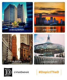 Tag photos with #DepictTheD to be featured, like these fine folks...