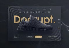 Landing Page Shoes by Asylab. #webdesign #ui #ux #webdevelopment #inspiration