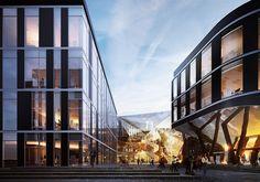 LPP Office Park, Gdansk on Behance