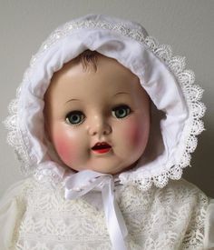 ~ Vintage Ideal Baby Doll Composition Sleep Eyes Open Mouth w/Teeth ~ | Dolls & Bears, Dolls, By Brand, Company, Character | eBay!