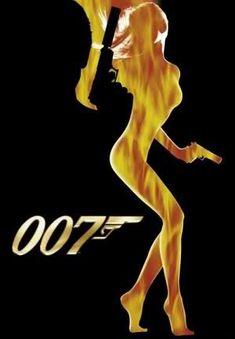 James Bond movie Poster vintage