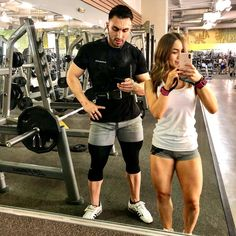 We dont get to lift together as often because of our different schedules but when we doI love it! He pushes me and I push him. My quads wouldnt be this big if it werent for him. Im so competitive that when I see him going heavy it makes me want to go heavy.  - - - #health #fitness #fit #TFLers #fitnessmodel #fitnessaddict #fitspo #workout #bodybuilding #cardio #gym #train #training #photooftheday #health #healthy #instahealth #healthychoices #active #strong #motivation #instagood…