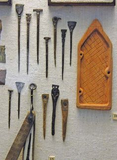 Wax tablet and stylus! State Historic Museum, Moscow