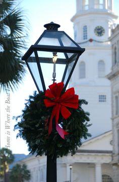 Christmas in Charleston, South Carolina