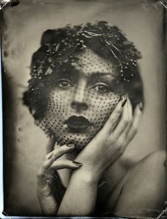 ☫ A Veiled Tale ☫  wedding, artistic and couture veil inspiration - Ed Ross