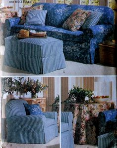 Slipcovers Sewing Pattern