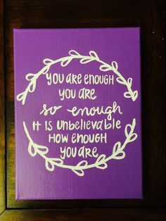 Canvas Painting, Inspirational Canvas, Home Decor, Wall Art - pinned by pin4etsy.com