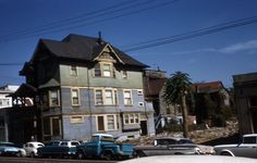 Grand Avenue, Bunker Hill [graphic] / Harris, L. Bunker Hill Los Angeles, Los Angeles California, Southern California, Downtown Los Angeles, Custom Homes, Exterior, Mansions, Car Photos, Architecture