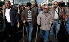 Greek retirees' pensions cut since 2010