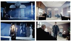 On the left we have Doctor Who (Hide) and on the right we have Sherlock (Reichenbach Fall). It's the same room. (animated gif set)