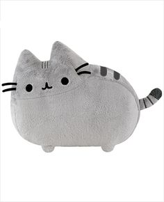I love this cat so much, maybe not as much as I love Mittens, but Mittens doesn't come in a travel friendly plushie.