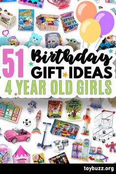 These 50+ Birthday Gifts for 4 Year Old Girls are gonna be amazing for our kids' birthday parties!! I can't believe you can see all of the coolest gifts for 4 year olds birthdays all in one place. 50 Birthday, 50th Birthday Gifts, Birthday Gifts For Women, Birthday Parties, 4 Year Old Girl, Milestone Birthdays, 4 Year Olds, Our Kids, Cool Toys
