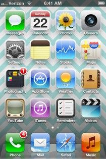 The most helpful iPhone tip ever to keep your phone running efficiently. I sometimes accidentally brought up those icons at the bottom of the screen and never knew what they were. No wonder my phone was having so much trouble! -Suki