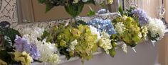 Bursting with Hydrangea Blossoms this flexible garland get your home ready for spring. H199467  http://qvc.co/-Shop-ValerieParrHill
