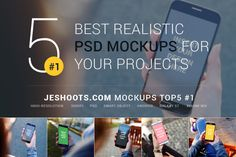 Best Realistic PSD Mockups September by JESHOOTS.com on @creativemarket