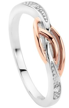 Clogau Ring Eternal Love Affinity Stacking Silver | C W Sellors Fine Jewellery and Luxury Watches