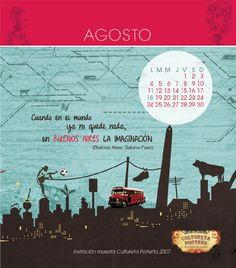 FinxDuvey Calendar 2014 - August