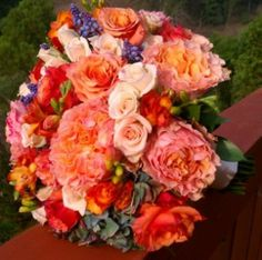 Bridal Bouquet www.subrosafloraldesign.com