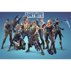 Fortnite Poster on Silk Battle Royale Game Wall Decals Decor Art Print Poster On, Poster Wall, Rainbow Cartoon, Happy Birthday Printable, Gaming Wall Art, Video Game Posters, Antique World Map, Battle Royale Game, Valentine Greeting Cards