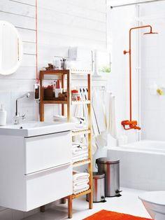 Für jedes Wohnproblem gibt es eine Lösung. Auch für kleine Badezimmer: Mit der richtigen Sanitärkeramik und cleveren Möbeln erleben Sie Wellness im XXL-Format.