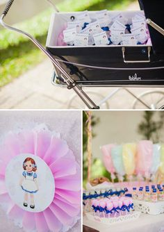 Dainty Vintage Paper Doll Themed Party