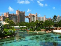 Fun at the Atlantis, Bahamas.