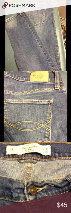 Abercrombie & Fitch jeans Abercrombie & Fitch jeans  size 6 Abercrombie & Fitch Jeans Skinny