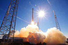 Así se Recupera un Cohete SpaceX Falcon 9