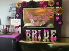 When the time came for one of my besties to have her Bachelorette Party I couldn't help but go a little nuts decorating! Transforming this San Diego Hotel into a glittery wonderland of pink, black, and gold was just be beginning of this epic weekend! By Shikico.com | Last Fling Before The Ring