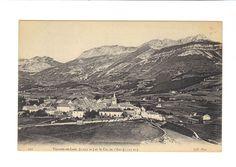 CPA  - VILLARD DE LANS (38) -VILLARD DE LANS ET LE COL DE L ARC
