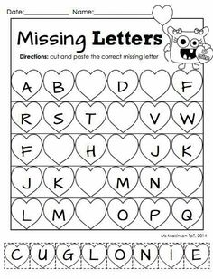 Fill the missing letter