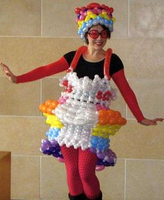 Creative but Weird Dresses made out of Waste and other Alternates (6)