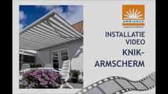 knikarmscherm installatie - Ambiance-online