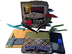 New York City Scrapbook Big Apple Travel by apicketfencelife