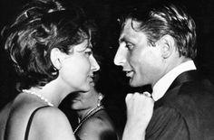Soraya Esfandiary and Gunther Sachs, 1962