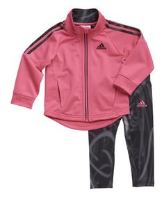 Loving this Pink Radiant Tricot Tracksuit - Infant & Toddler on #zulily! #zulilyfinds